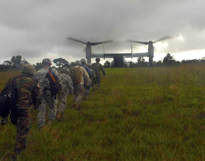 CC US Army Africa. Clearing the way for Ebola treatment unit sites